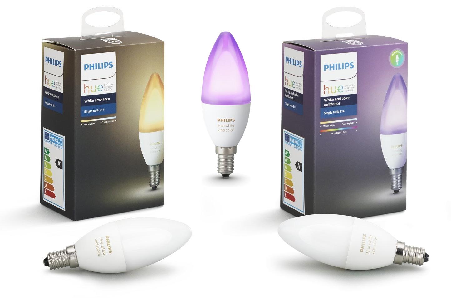 Lampadine led smart philips hue e14 lampade led online for Nuove lampadine led